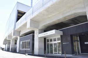 えちぜん鉄道の新しい福井口駅舎
