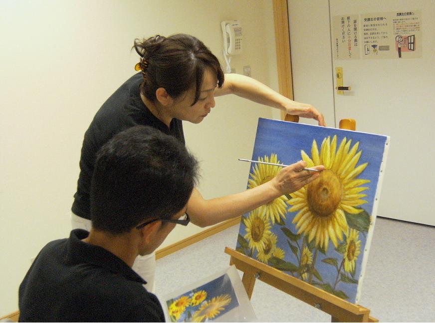 洋画教室(水彩・アクリル・油絵)