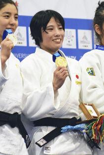 目指すは「ヤワラちゃん」 柔道女子の武田、ユニバ金 スポーツランド