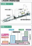 福井駅前の三角地帯、再開発の全容