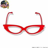 新ブランド「メゾン鯖江」の第1弾となる「セーラーV」のなりきり眼鏡(バンダイ提供)