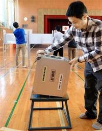 福井市議、判明0時台か 県内6市町で投票所設営 小浜は午後10時半見通し