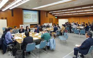 6日に経済産業省と原子力発電環境整備機構がさいたま市で開いた住民向けの意見交換会