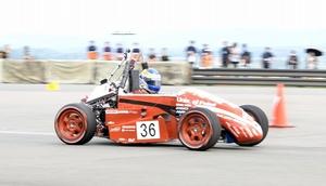 エンデュランス(耐久走行)に挑むFRCのマシン