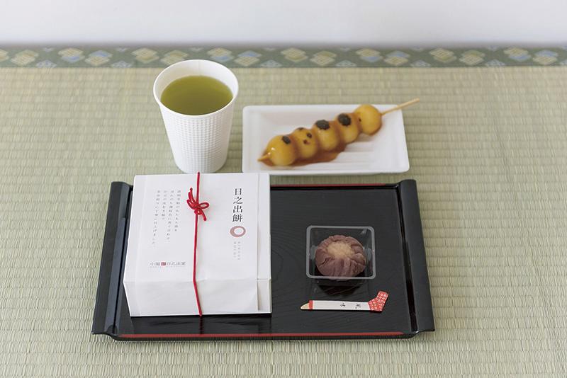 見て食べて楽しめる、できたての和菓子はここで食べるから美味しい
