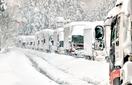 大雪1500台立ち往生で待機所