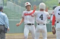 北陸14安打の猛攻、敦賀工業下し4強 2021春季高校野球福井県大会準々決勝