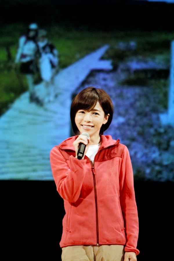 釈由美子さん「白山、本当に最高」