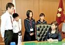 稲田朋美防衛相を中学生が直撃