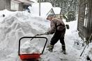 福井大雪で高齢集落が4日間孤立