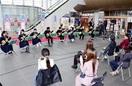 国見中生和楽器を披露 全校16人ハピテラスで演…