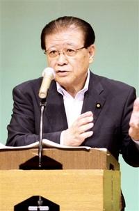 「変えるべきは政権」共産・市田氏が講演 福井、改憲姿勢など批判