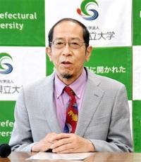 恐竜分野の世界一に 県立大研究所長 西氏日本古生物学会会長が就任
