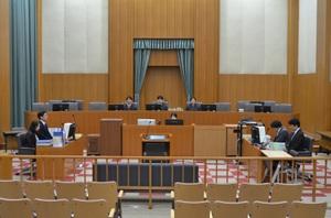裁判員裁判の公判が開かれた1号法廷=22日、福井地裁