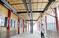 県産材で温かみ えち鉄福井駅 新駅舎完成 24日から供用開始