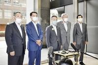 JR西社長、通勤通学時間帯の便数は維持 福井県内の小浜線、越美北線減便検討で考え