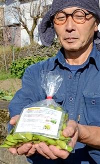 黒豆を野向の特産に 勝山・住民団体 「本場」丹波(兵庫)産を栽培 現地から味お墨付き 売れ行き好調、生産拡大へ