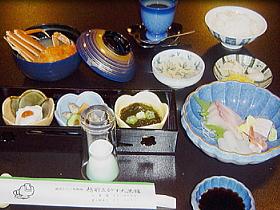 越前かに・御料理・仕出し 厳選した新鮮魚介類をご提供