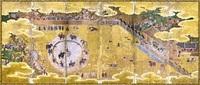 """犬追物図 奇跡の""""再会"""" 県立美術館 特別展で100年以上ぶり 光吉の図像継ぐ一双"""