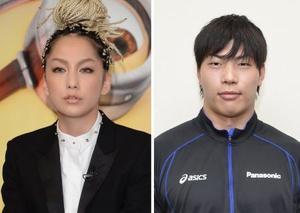 中島美嘉さん、清水邦広選手