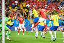 ブラジル1―1スイス