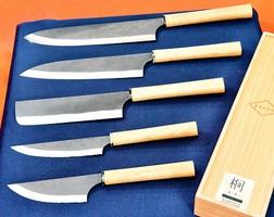 三木あいさんたちが日本の美を詰め込んだ越前打刃物の新シリーズ「EZZEN」