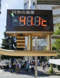 昨夏の猛暑、温暖化が影響