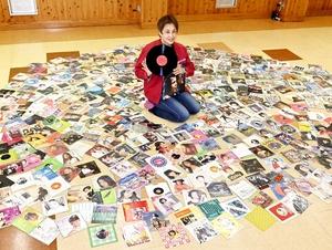昭和の曲、公民館にレコード500枚