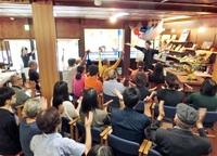 【大学生TIMES】仁愛大編 駅前サテライト(越前市) 一期一会、人集う拠点 官学連携 町屋の面影好評