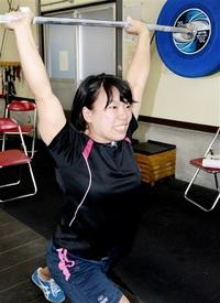 重量挙げ女子 細見綾香(県若狭健康福祉センター) 小柄でも不屈のパワー チームふくい新戦力