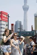 7月の訪日客283万人、観光庁