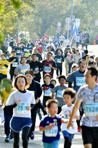 菊花マラソン3627人が駆ける