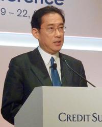 岸田氏、財政再建に積極姿勢