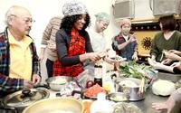 アフリカの食 優しい味 福井で国際交流催し 50人料理体験