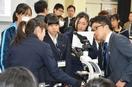 県内の中高生がiPS細胞を観察