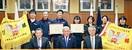 全日本エスキーテニス 男女Vメンバー 市長に喜…