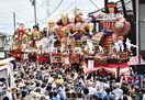 勇壮山車6基が市街地練る 三国祭中日、坂井市