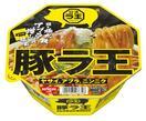 背脂スープの極太カップ麺