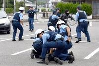 不審船発見を想定しあわらと加賀で訓練 福井、石川両県警など