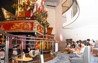 山車の歴史に興味津々 敦賀 児童17人が「ひまわり塾」