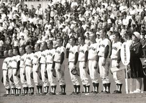 1978年の前回福井国体で優勝した若狭高校野球部
