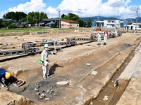 室町期の屋敷群跡発見 称念寺中核 繁栄裏付け 坂井・長崎遺跡