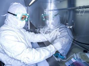「キムリア」を製造する米ニュージャージー州の専門施設(ノバルティスファーマ提供)