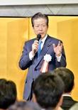 福井県知事選、公明党代表の意向