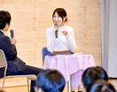 鹿沼憂妃さん福井の母校でトーク