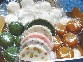 今庄たくら産 たんちょう餅米使用の杵つき餅はいかが