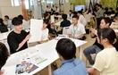 就活に向け学生42人、先輩に学ぶ