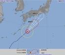 台風20号、東海や近畿22日大雨か