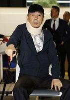 府中刑務所を出所した指定暴力団山口組の高山清司若頭=10月18日、東京都港区