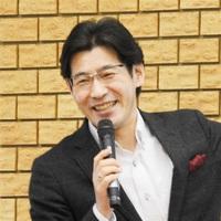 人材のマネジメント術をテーマに話す目黒勝道氏=22日、福井市の県中小企業産業大学校